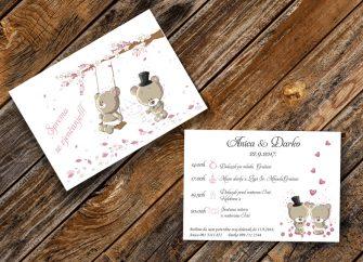 Pozivnice za vjenčanje 14F