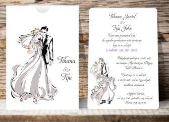 Pozivnice za vjenčanje 06F