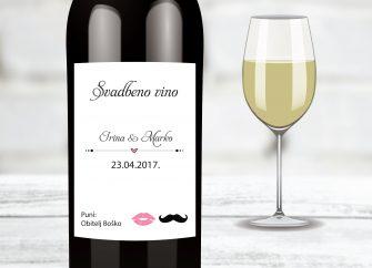 Naljepnice za vino 15f