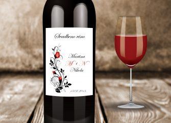 Naljepnice za vino 08E