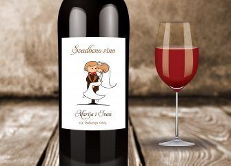 Naljepnice za vino 14F