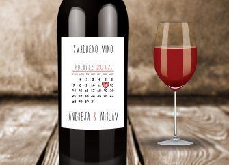 Naljepnice za vino 20E