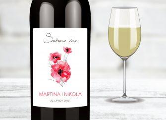 Naljepnice za vino 23E