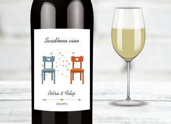 Naljepnice za vino 29E