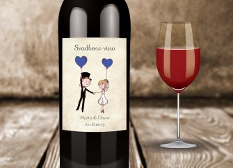 Naljepnice za vino 30G