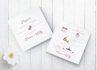 Pozivnice za vjenčanje 40f