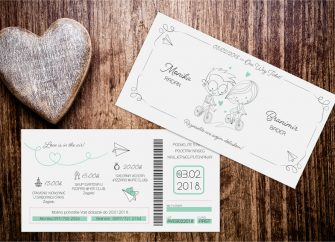 Pozivnice za vjenčanje 36e