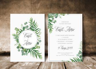 Pozivnice za vjenčanje 18e