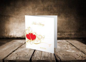 Pozivnice za vjenčanje 07E