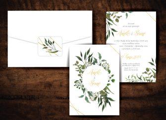 Pozivnice za vjenčanje 06E