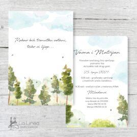 Pozivnice za vjenčanje 17f