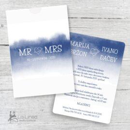 Pozivnice za vjenčanje 25e